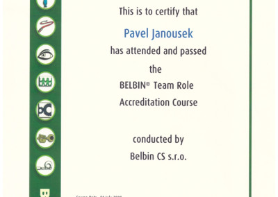 BELBIN Accreditation