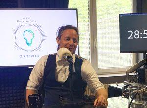 "Podcast ""O ROZVOJI"" - Roman Neubauer"
