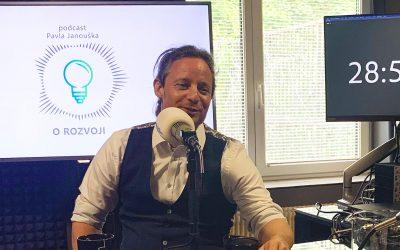 Podcast O ROZVOJI – #12 – Roman Neubauer: Neustále se ptám, co lidé chtějí