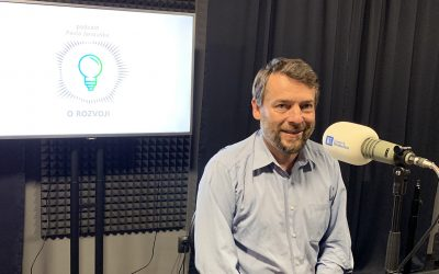 Podcast O ROZVOJI – #8 – Šimon Pánek: Lživé výroky o Člověku v tísni neživím