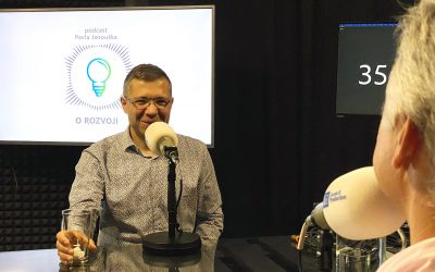 Podcast O ROZVOJI – #15 – Jan Polák: Vždy se snažím, aby se kurzu účastnil i sám zadavatel